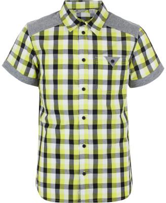 Рубашка для мальчиков OutventureРубашка для мальчиков с коротким рукавом подходит для походов. Натуральные материалы ткань на 60 % состоит из хлопка.<br>Пол: Мужской; Возраст: Дети; Вид спорта: Походы; Количество карманов: 1; Застежка: Пуговицы; Материал верха: 60 % хлопок, 40 % полиэстер; Производитель: Outventure; Артикул производителя: S17AOUO114; Страна производства: Индия; Размер RU: 146;