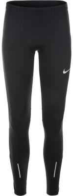 Легинсы мужские Nike RunМужские легинсы для бега от nike. Светоотражающие элементы светоотражающие детали сделают вас заметнее в темное время суток.<br>Пол: Мужской; Возраст: Взрослые; Вид спорта: Бег; Силуэт брюк: Облегающий; Количество карманов: 1; Производитель: Nike; Артикул производителя: 858141-010; Материал верха: 88 % полиэстер, 12 % эластан; Размер RU: 50-52;