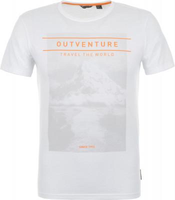 Футболка мужская Outventure, размер 48Футболки<br>Практичная мужская футболка от outventure - то что нужно в походе. Свобода движений продуманный крой обеспечивает удобство и свободу движений.