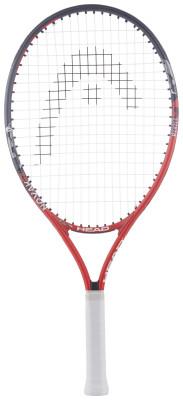 Ракетка для большого тенниса детская Head Novak 23Детская ракетка novak для ребят 6-8 лет, которые только начинают знакомство с теннисом.<br>Вес (без струны), грамм: 215; Размер головы: 630 кв. см; Длина: 58,5 см; Материалы: Алюминий; Наличие струны: В комплекте; Наличие чехла: В комплекте; Вид спорта: Большой теннис; Технологии: Damp+; Производитель: Head; Артикул производителя: 233617; Срок гарантии: 1 год; Страна производства: Китай; Размер RU: Без размера;