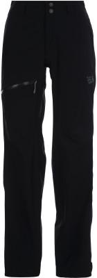 Брюки женские Mountain Hardwear Stretch Ozonic, размер 44Брюки <br>Компактные и легкие мембранные брюки от mountain hardwear - отличный выбор для горного туризма. Водонепроницаемость мембрана dry.