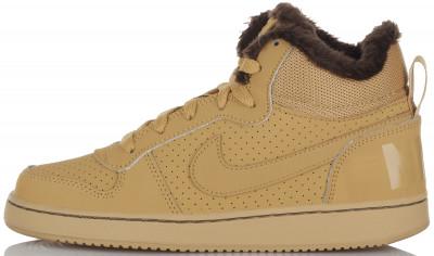 Кеды для девочек Nike Court Borough Mid Winter, размер 34,5