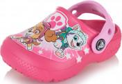 Шлепанцы для девочек Crocs FunLab Paw Patrol Clogs