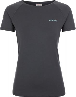 Футболка женская Merrell, размер 50Футболки<br>Практичная футболка merrell для прогулок и походов. Отведение влаги ткань с технологией m select wick эффективно отводит влагу от тела и быстро сохнет.