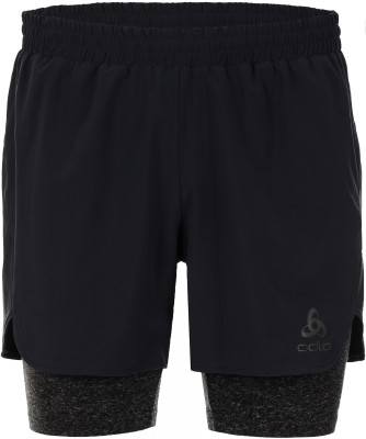Шорты мужские Odlo Millennium Linencool Pro, размер 52-54Мужская одежда<br>Отличный выбор для занятий бегом - практичные и удобные шорты odlo.