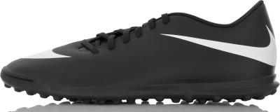 Бутсы мужские Nike BravataX II TFМужские футбольные бутсы для газона nike bravatax ii (tf) - это скорость и контроль мяча, необходимые во время игры.<br>Пол: Мужской; Возраст: Взрослые; Вид спорта: Футбол; Тип поверхности: Грунт и искусственное покрытие; Способ застегивания: Шнуровка; Материал верха: 100 % синтетическая кожа; Материал подкладки: 100 % текстиль; Материал подошвы: 100 % резина; Производитель: Nike; Артикул производителя: 844437-001; Страна производства: Вьетнам; Размер RU: 44;