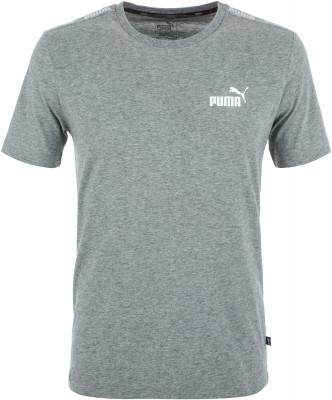 Футболка мужская Puma Amplified, размер 44-46Футболки<br>Футболка puma для образа в спортивном стиле. Натуральные материалы ткань, выполненная из натурального хлопка, приятна на ощупь.