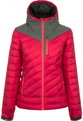 Куртка утепленная женская IcePeak LayanТеплая зимняя куртка icepeak отлично подходит для походов. Защита от влаги водоотталкивающая пропитка water repellent защищает от промокания.<br>Пол: Женский; Возраст: Взрослые; Вид спорта: Походы; Вес утеплителя на м2: 300 г/м2; Наличие чехла: Нет; Длина по спинке: 66 см; Температурный режим: До -25; Покрой: Приталенный; Дополнительная вентиляция: Нет; Проклеенные швы: Нет; Длина куртки: Средняя; Капюшон: Не отстегивается; Мех: Отсутствует; Количество карманов: 5; Водонепроницаемые молнии: Нет; Технологии: Reflectors, Super Soft Touch, Water Repellent; Производитель: IcePeak; Артикул производителя: 53004650IV; Страна производства: Китай; Материал верха: 100 % полиамид; Материал подкладки: 100 % полиэстер; Материал утеплителя: 100 % полиэстер; Размер RU: 48;