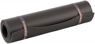Коврик для фитнеса DemixСовременный, легкий и компактный аксессуар для занятий фитнесом в домашних условиях. Удобные стяжки для хранения и переноски в комплекте. Размер: 140 x 50 x 0, 6 см.<br>Толщина: 6 мм; Вес, кг: 0,2; Размер (Д х Ш), см: 140 x 50; Производитель: Demix; Артикул производителя: D-845M; Срок гарантии: 6 месяцев; Страна производства: Россия; Размер RU: Без размера;