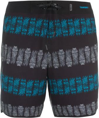 Шорты пляжные мужские TermitМужские плавательные шорты с ярким принтом - удачный вариант для активного отдыха на пляже.<br>Пол: Мужской; Возраст: Взрослые; Вид спорта: Surf style; Назначение: Пляжный отдых; Длина плавок: 45 см; Материал верха: 86 % полиэстер, 14 % спандекс; Материал подкладки: 100 % полиэстер; Технологии: Waterfly; Производитель: Termit; Артикул производителя: S17ATEB13X; Страна производства: Китай; Размер RU: 56;