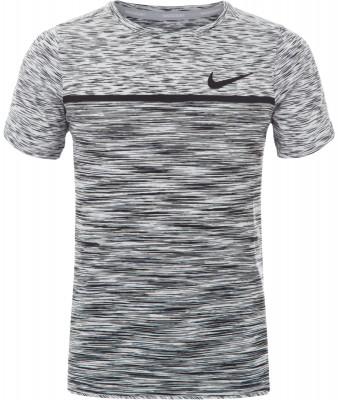 Футболка для мальчиков Nike Dry Challenger TennisТеннисная футболка для мальчиков nike dry challenger tennis. Свобода движений продуманное расположение швов и вставки в районе подмышек служат для свободы движений.<br>Пол: Мужской; Возраст: Дети; Вид спорта: Теннис; Материалы: 95 % полиэстер, 5 % эластан; Производитель: Nike; Артикул производителя: 856116-100; Страна производства: Камбоджа; Размер RU: 128-140;