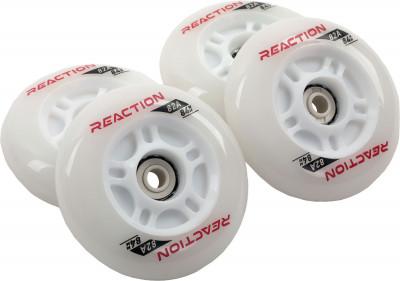 Набор колес для роликов REACTION 84 мм, 80А, 4 шт
