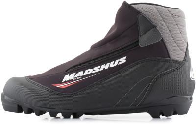 Ботинки для беговых лыж Madshus CT100Прогулочные лыжные ботинки для классического хода.<br>Сезон: 2016/2017; Назначение: Прогулочные; Стиль катания: Классический; Уровень подготовки: Начинающий; Пол: Мужской; Возраст: Взрослые; Вид спорта: Беговые лыжи; Система креплений: NNN; Утеплитель: Флис; Система шнуровки: Закрытая; Технологии: Membrain Softshell, RevoWrap; Производитель: Madshus; Артикул производителя: N164011; Срок гарантии: 1 год; Страна производства: Китай; Размер RU: 42;