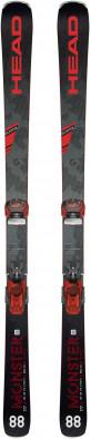 Горные лыжи + крепления Head MONSTER 88 TI + ATTACK