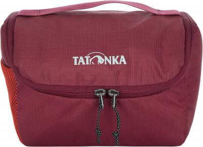 Несессер Tatonka ONE WEEKСумки и кошельки<br>Удобная косметичка на молнии с двумя бегунками. Несколько внутренних отделений, сетчатый карман под клапаном и два кармана снаружи позволяют разместить все необходимое.