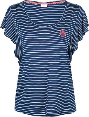 Футболка женская Protest Laurine, размер 50Surf Style <br>Женская футболка protest для яркого пляжного образа. Свобода движений прямой крой стесняет движения. Комфорт приятная на ощупь вискоза комфортна в носке.