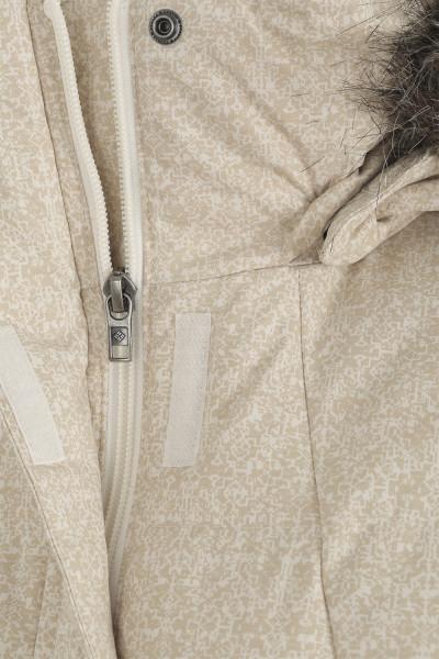 a3ecf16f206e Куртка пуховая женская Columbia Varaluck III бежевый цвет - купить за 6999  руб. в интернет-магазине Спортмастер