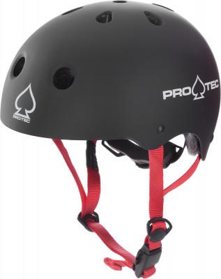 Шлем детский Pro-Tec Classic Fit Cert MatteДетский шлем pro-tec classic fit cert - это отличный выбор для катания на скейте, велосипеде или самокате. В качестве основы для модели был взят легендарный шлем classic.<br>Конструкция: Hard shell; Вентиляция: Принудительная; Материал внешней раковины: Hi-Impact ABS; Материал подкладки: Пена EPS; Вес, кг: 0,4; Сертификация: CPSC, CE, ASTM, AS/NZS 2063:2008; Пол: Мужской; Возраст: Дети; Вид спорта: Роликовые коньки; Производитель: Pro-Tec; Технологии: 2-Stage Soft Foam Liner, Dri-Lex, EPS, Fid-Lock buckle, HDPE Flex, Hardshell, Twist Fit System; Срок гарантии: 1 месяц; Артикул производителя: 2000006; Страна производства: Китай; Размер RU: 47-49;