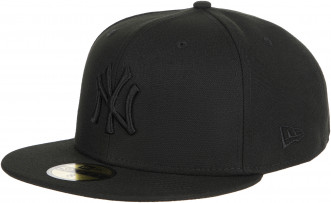 Бейсболка New Era Black On Black NY Yankees