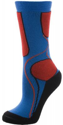 Носки для мальчиков Nordway, 1 параВысокие носки для коньков для мальчиков. Носки изготовлены из качественных материалов, обеспечивающих ощущение комфорта продолжительное время. Модель идеально сидит по ноге.<br>Пол: Мужской; Возраст: Дети; Вид спорта: Хоккей; Производитель: Nordway; Артикул производителя: N6BXK1Z2X; Страна производства: Россия; Материалы: 56 % акрил, 24 % шерсть, 19 % полиамид, 1 % эластан; Размер RU: 35-38;