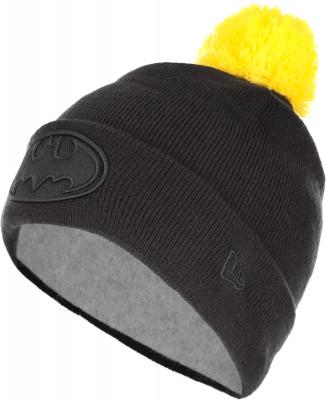 Шапка для мальчиков New Era 841 Tonal CharacterЯркая шапка c вышитым логотипом бэтмена batman. Логотип new era размещен сбоку.<br>Пол: Мужской; Возраст: Дети; Вид спорта: Спортивный стиль; Материал верха: 100 % акрил; Материал подкладки: 90 % полиэстер, 10 % шерсть; Производитель: New Era; Артикул производителя: 11448306Y; Страна производства: Китай; Размер RU: 54-55;