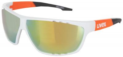 Солнцезащитные очки Uvex Sportstyle 706Спортивные солнцезащитные очки от uvex. Линзы с покрытием litemirror и фильтром 100% uva-, -b, - c надежно защищают глаза от ультрафиолетового и инфракрасного излучения.<br>Возраст: Взрослые; Пол: Мужской; Цвет линз: Оранжевый; Цвет оправы: Белый матовый, оранжевый; Назначение: Бег, велоспорт; Ультрафиолетовый фильтр: Да; Поляризационный фильтр: Нет; Зеркальное напыление: Да; Категория фильтра: 3; Материал линз: Поликарбонат; Оправа: Пластик; Вид спорта: Бег, Велоспорт; Технологии: LITEMIRROR; Производитель: Uvex; Артикул производителя: S5320068316; Срок гарантии: 1 месяц; Страна производства: Тайвань; Размер RU: Без размера;
