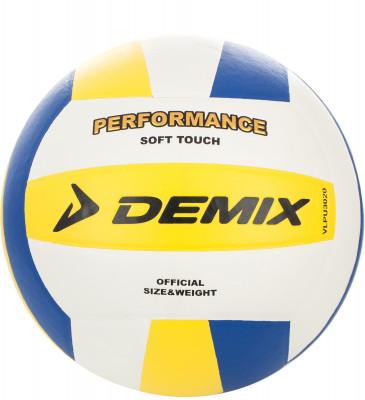 Мяч волейбольный DemixВолейбольный мяч для тренировок, игры и любительских соревнований в зале и на открытых площадках: для производства этого мяча использована специализированная синтетическая к<br>Сезон: 2017; Возраст: Взрослые; Вид спорта: Волейбол; Тип поверхности: Для зала; Назначение: Профессиональные; Материал покрышки: Синтетическая кожа; Материал камеры: Резина; Способ соединения панелей: Клееный; Количество панелей: 18; Вес, кг: 0,260-0,280; Производитель: Demix; Артикул производителя: VLPU3020D; Срок гарантии: 6 месяцев; Страна производства: Китай; Размер RU: 5;