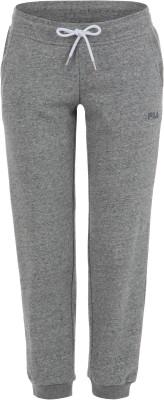 Брюки женские Fila, размер 44Брюки <br>Лаконичные брюки в классическом спортивном стиле от fila - отличная основа для твоего образа.