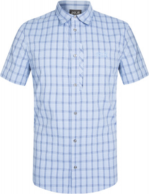 Рубашка с коротким рукавом мужская Jack Wolfskin Rays Stretch Vent, размер 50-52