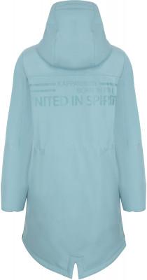 Фото 2 - Куртку утепленная для девочек Kappa, размер 152 синего цвета