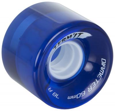 Колесо для круизера Termit, 60 ммПолиуретановое колесо termit для круизера диаметром 60 мм.<br>Пол: Мужской; Возраст: Взрослые; Вид спорта: Скейтбординг; Состав: 100 % полиуретан; Диаметр: 60 мм; Производитель: Termit; Артикул производителя: S17TERO2Z4; Срок гарантии: 6 месяцев; Страна производства: Китай; Размер RU: Без размера;