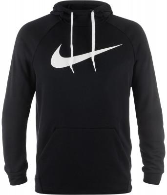 Джемпер мужской Nike DryУдобный и практичный джемпер для тренинга от nike пригодится в прохладные дни.<br>Пол: Мужской; Возраст: Взрослые; Вид спорта: Тренинг; Покрой: Прямой; Капюшон: Не отстегивается; Количество карманов: 1; Застежка: Отсутствует; Материал верха: 100 % полиэстер; Технологии: Nike Dri-FIT; Производитель: Nike; Артикул производителя: 885818-010; Страна производства: Китай; Размер RU: 48;