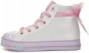 Кеды высокие для девочек Skechers Ms. Sparkle Beauty