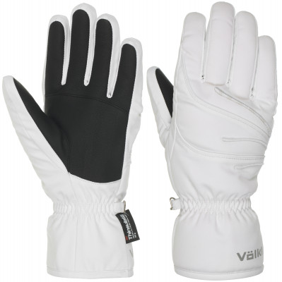 Перчатки женские VolklЖенские технологичные перчатки для катания на горных лыжах.<br>Пол: Женский; Возраст: Взрослые; Вид спорта: Горные лыжи; Водонепроницаемость: 10000 мм; Паропроницаемость: 10000 г/м2/24 ч; Технологии: Sensortex XT, Thinsulate; Производитель: Volkl; Артикул производителя: XZLW01006-; Страна производства: Китай; Материал верха: 100 % полиэстер; Материал подкладки: 100 % полиэстер; Материал утеплителя: 100 % полиэстер; Размер RU: 6,5;