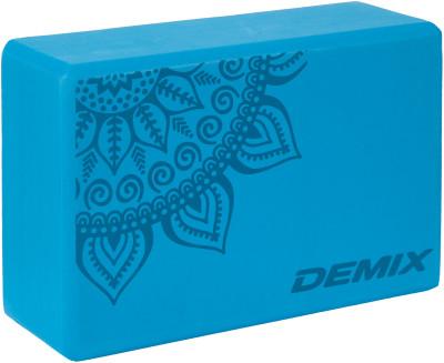 Блок для йоги DemixЛегкий блок для йоги от demix благодаря своему небольшому размеру блок легко переносить, а использование современных материалов гарантируют долговечность изделия.<br>Вес, кг: 0,23; Размеры (дл х шир х выс), см: 23 х 15 х 7,5; Материалы: 100 % этиленвинилацетат; Вид спорта: Йога; Производитель: Demix; Артикул производителя: D-830; Срок гарантии: 6 месяцев; Страна производства: Китай; Размер RU: Без размера;
