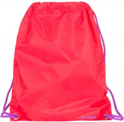 Мешок для мокрых вещей JossМешок предназначен для транспортировки мокрых вещей. Обладает водонепроницаемыми свойствами. Лямки позволяют переносить мешок как рюкзак.<br>Пол: Мужской; Возраст: Взрослые; Вид спорта: Плавание; Материал верха: 100 % полиэстер; Производитель: Joss; Артикул производителя: ASR03A7X2; Страна производства: Китай; Размер RU: Без размера;