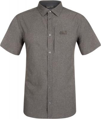 Рубашка с коротким рукавом мужская Jack Wolfskin Barrel, размер 58