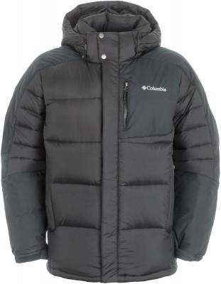 Куртка пуховая мужская Columbia SheerdownМужская пуховая куртка подойдет для горного туризма в холодное время года. Защита от влаги верхняя ткань изделия обработана водоотталкивающей пропиткой.<br>Пол: Мужской; Возраст: Взрослые; Вид спорта: Горный туризм; Температурный режим: До -15; Покрой: Прямой; Длина куртки: Средняя; Капюшон: Отстегивается; Количество карманов: 4; Технологии: Omni-Heat, TurboDown; Производитель: Columbia; Артикул производителя: 1683191010M; Страна производства: Вьетнам; Материал верха: 100 % нейлон; Материал подкладки: 100 % полиэстер; Материал утеплителя: 55 % пух, 45 % полиэстер; Размер RU: 46-48;