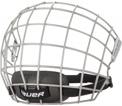 Маска для шлема хоккейная Bauer 2100Маска для шлема nordway защищает лицо хоккеиста во время игр и тренировок.<br>Пол: Мужской; Возраст: Взрослые; Вид спорта: Хоккей; Уровень подготовки: Средний; Материал корпуса: Нержавеющая сталь; Материалы: Нержавеющая сталь; Сертификация: CSA, HECC, CE.; Вентиляция: Есть; Вес, кг: 0,315; Производитель: Bauer; Артикул производителя: 1037080; Срок гарантии: 1 год; Страна производства: Таиланд; Размер RU: 55-59;
