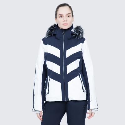 Фото 2 - Куртку женская Luhta Jalonoja, размер 42 белого цвета