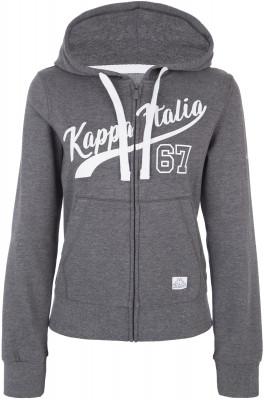 Джемпер женский Kappa, размер 48Джемперы<br>Выделись из толпы с комфортным и ярким джемпером от kappa! Отличный выбор для образа в спортивном стиле. Уникальный дизайн контрастные цвета для эффектного образа.