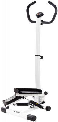 Torneo Tempo S-221Современный степпер для дома наилучший вариант для комплексной работы икроножных мышц, мышц бедра, четырехглавой мышцы и ягодиц.<br>Тип степпера: Поворотный; Система нагружения: Гидравлическая; Питание тренажера: Батарейки; Максимальный вес пользователя: 100 кг; Время тренировки: Есть; Ритм, шаг/мин: Есть; Количество шагов за тренировку: Есть; Количество шагов за предыдущие тренировки: Есть; Израсходованные калории: Есть; Педали: Взаимозависимый ход, поворотный механизм, регулируются по высоте; Дополнительно: Удобные поручни для рук, передняя стойка регулируется по высоте; Размеры (дл х шир х выс), см: 48 x 53 x 129; Вес, кг: 12,3; Вид спорта: Кардиотренировки; Технологии: EverProof; Производитель: Torneo; Артикул производителя: S-221; Срок гарантии: 2 года; Страна производства: Китай; Размер RU: Без размера;
