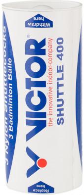Набор воланов для бадминтона Victor Nylon Shuttle 400