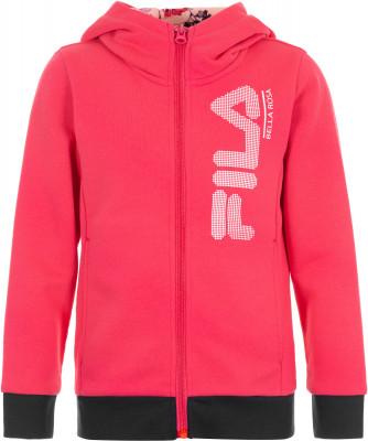 Джемпер для девочек Fila, размер 110Джемперы<br>Джемпер на молнии от fila для самых маленьких любительниц спортивного стиля. Натуральные материалы в составе ткани преобладает натуральный воздухопроницаемый хлопок.