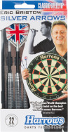 Набор дротиков Harrows Eric Bristow Silver Arrows, 3 шт.