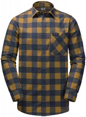 Рубашка мужская Jack Wolfskin Red River, размер 50-52
