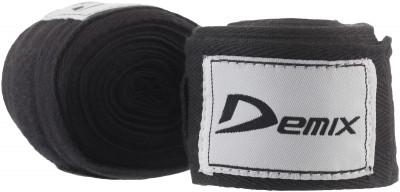 Бинт Demix, 4,5 м, 2 шт.Эластичный бинт используется для защиты рук от травм во время вольного боя и работы по груше. Изделие дополнено удобной системой фиксации на липучке.<br>Состав: 100% эластик; Вид спорта: Бокс, ММА; Производитель: Demix; Артикул производителя: DCS-HW45E; Размер RU: 4,5;
