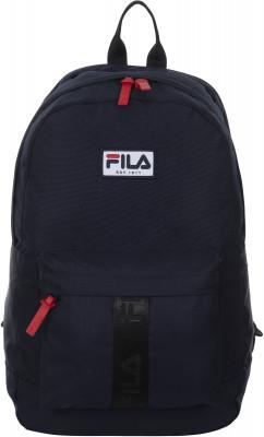 Рюкзак FilaРюкзаки<br>Рюкзак, выполненный в традиционных цветах бренда fila. В модели предусмотрены органайзер и отделение для ноутбука. Прочный материал гарантирует долгий срок службы рюкзака.