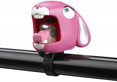 Звонок велосипедный детский CrazyStuff Pink Bunny
