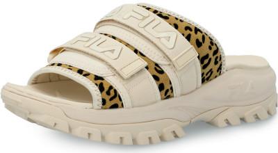 Шлепанцы женские Fila Outdoor Sandal Animal Print, размер 36.5